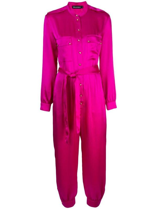 Haney Lauren jumpsuit in purple