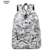 bag,black and white,backpack,trendy