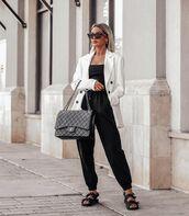jacket,white blazer