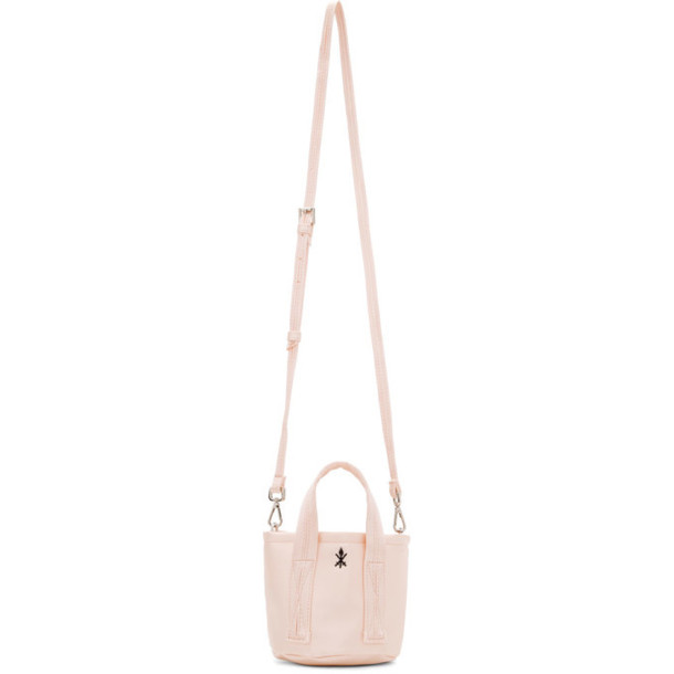 Opening Ceremony Pink Satin Mini Bucket Bag