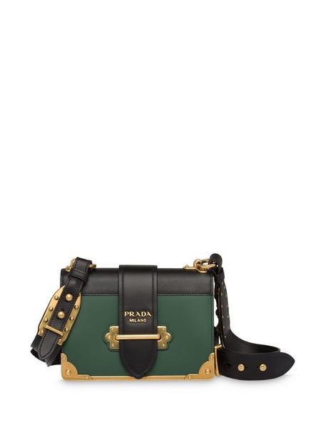 Prada Cahier shoulder bag in green