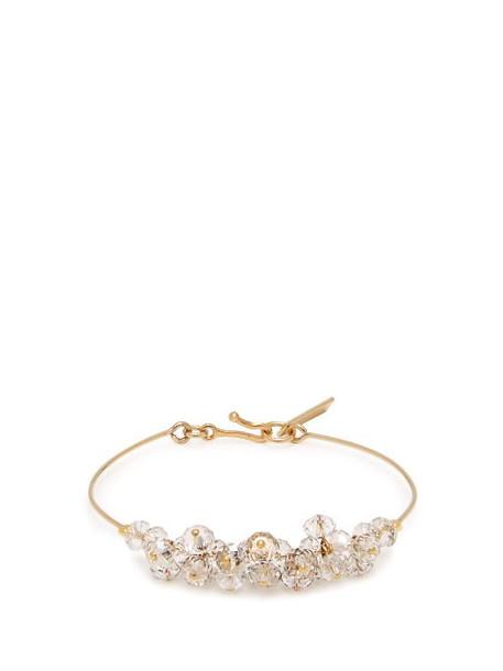 Isabel Marant - Bead Embellished Bracelet - Womens - Crystal