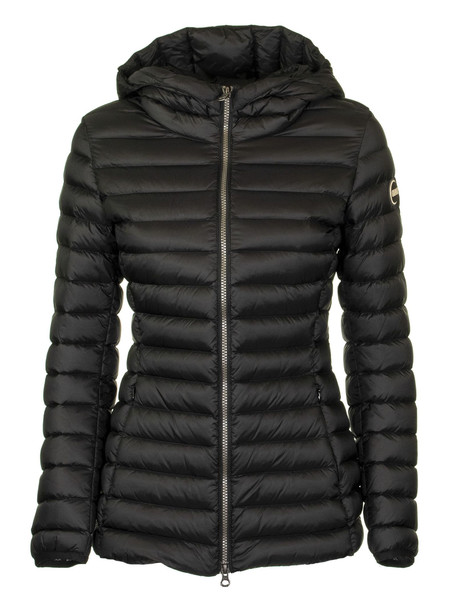Colmar Place Glossy Down Jacket With Hood in black