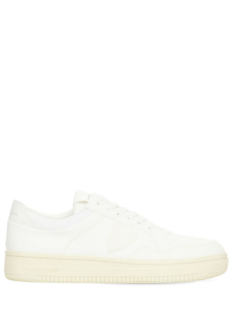 PHILIPPE MODEL Acbc Lyon Low Sneakers in white