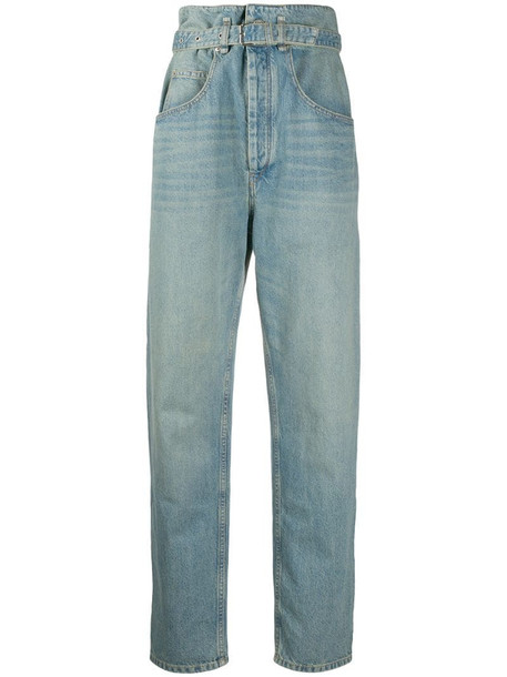 Isabel Marant Étoile Gloria high-rise jeans in blue