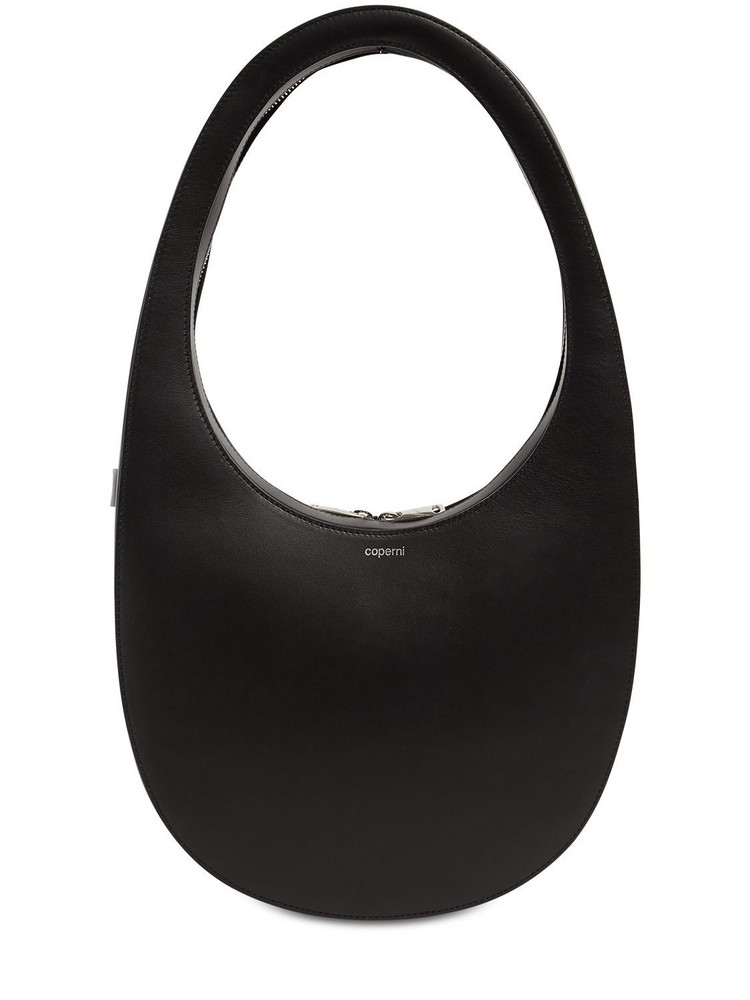 COPERNI Large Swipe Leather Bag in black