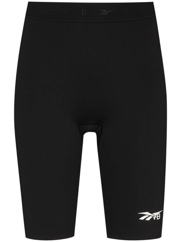 Reebok x Victoria Beckham performance cycling shorts in black