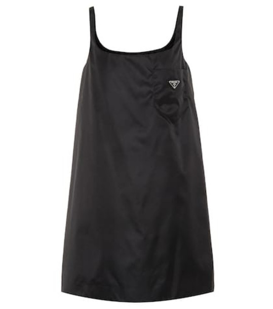 Prada Pinafore minidress in black