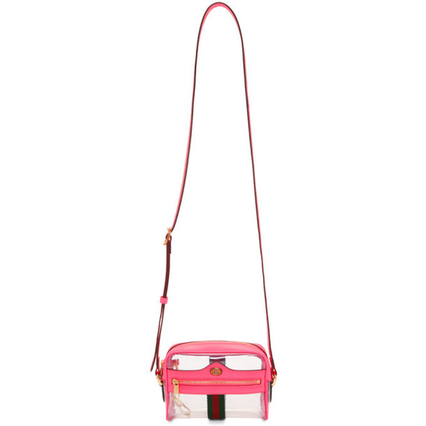 Gucci Transparent & Pink Ghost Ophidia Bag