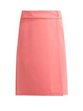 skirt,a line skirt,pink