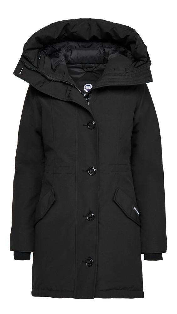 Canada Goose Rossclair Parka - No Fur in black