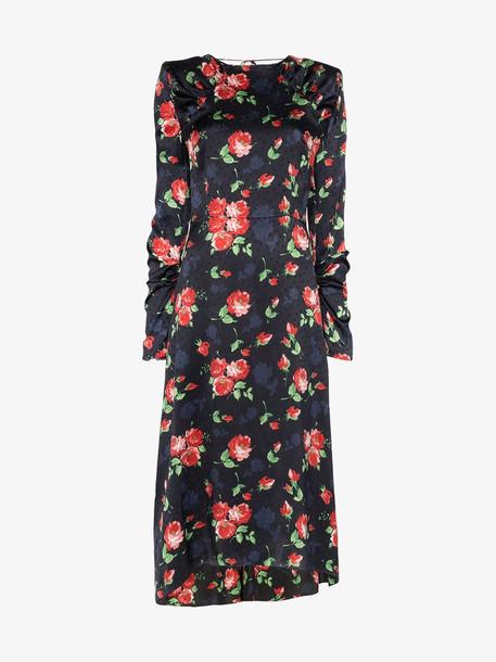 Magda Butrym crotone floral print silk dress