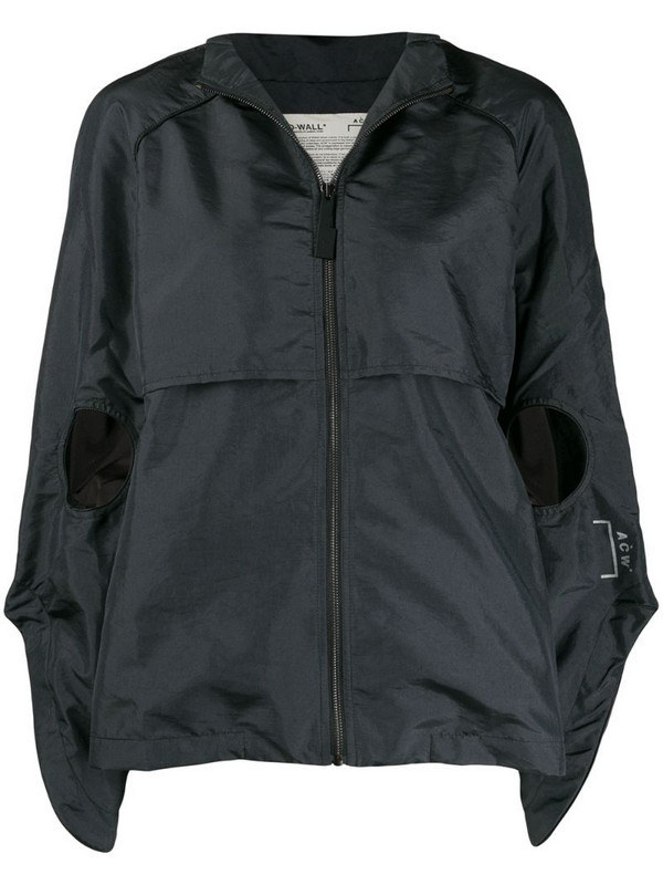 A-COLD-WALL* cut-out hooded jacket in black