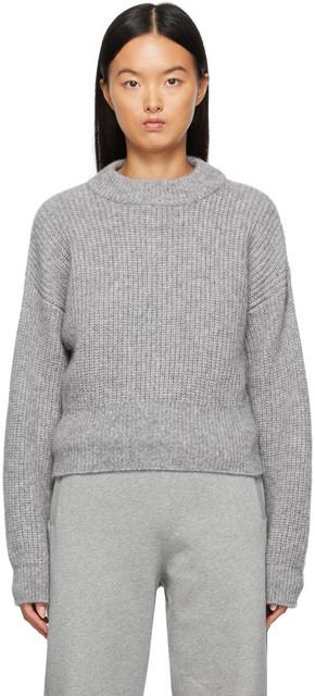 Boss Grey Fernanda Sweater in silver