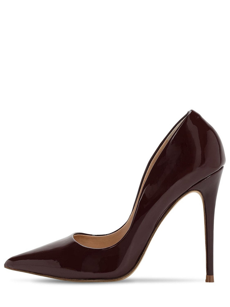 STEVE MADDEN 105mm Faux Patent Leather Pumps