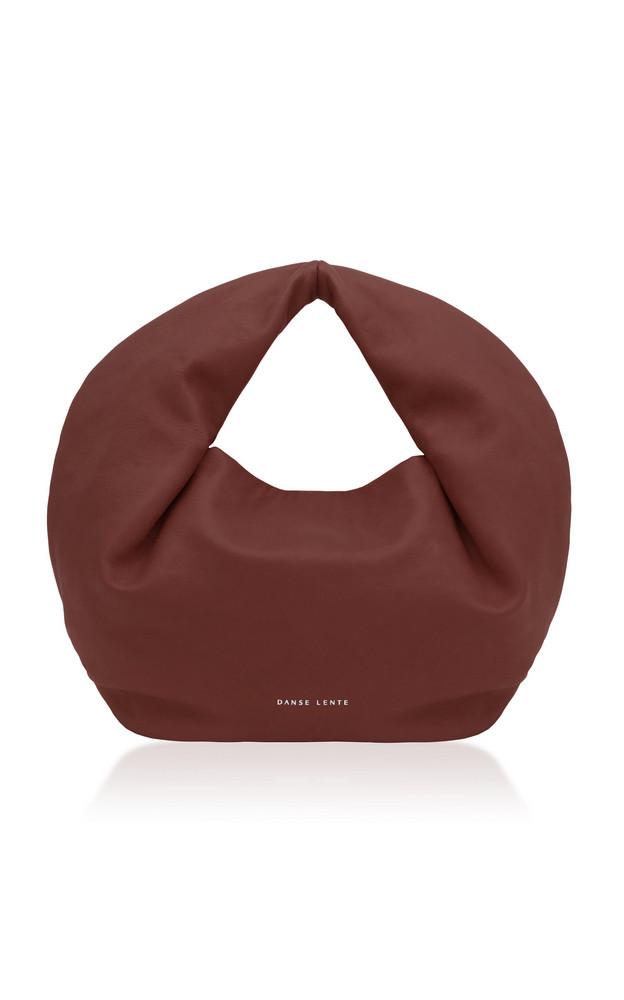 Danse Lente Lola Leather Mini Hobo Bag in brown