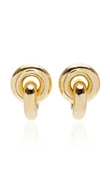 Uncommon Matters Cumulus Gold-Tone Vermeil Earrings