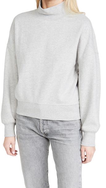 RAILS Blaire Sweatshirt in grey