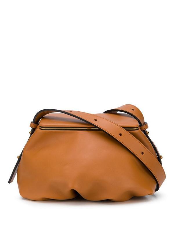LUTZ MORRIS Blake Dumpling shoulder bag in brown