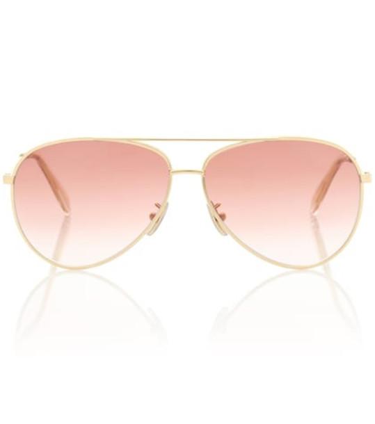 Celine Eyewear Aviator sunglasses in pink