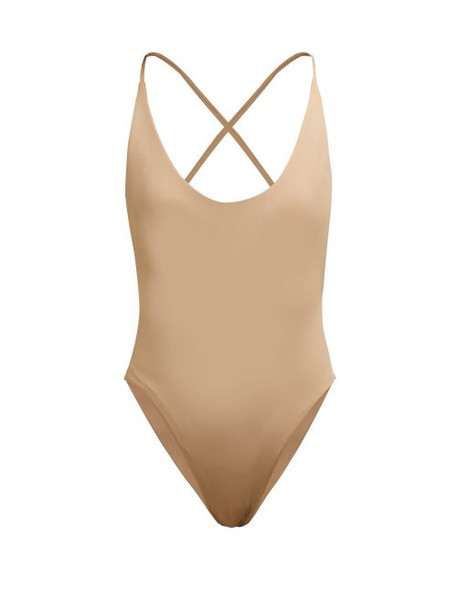 Dos Gardenias - Vicious Swimsuit - Womens - Tan