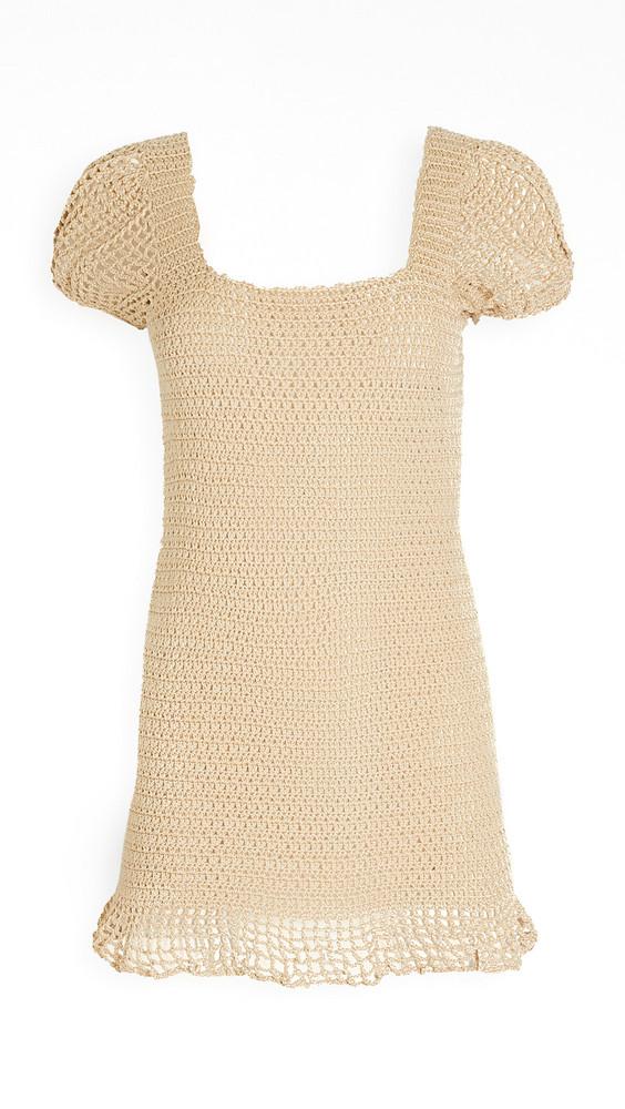 Maiyo Kai Dress in beige