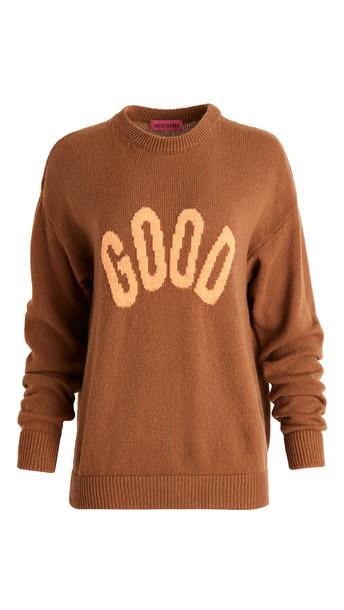 Ireneisgood Good Sweater in brown