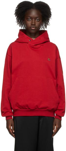 Vivienne Westwood Red Logo Hoodie