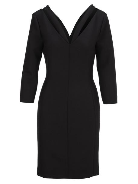 Stella Mccartney V-neck Dress in black