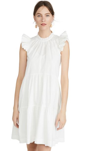 Sea Tabitha Tiered Dress in white