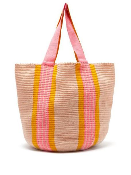 Sophie Anderson - Jonas Woven Tote Bag - Womens - Orange Multi