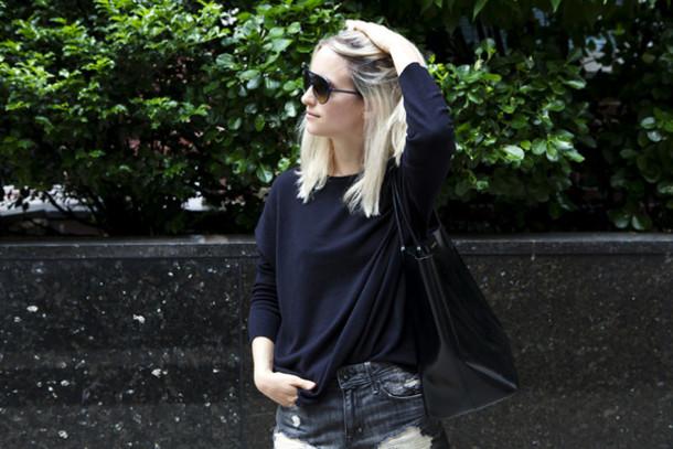 the fashion guitar sweater shorts bag shoes jewels sunglasses