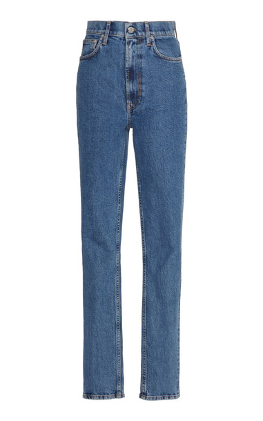 Helmut Lang High Rise Stretch Skinny Jeans