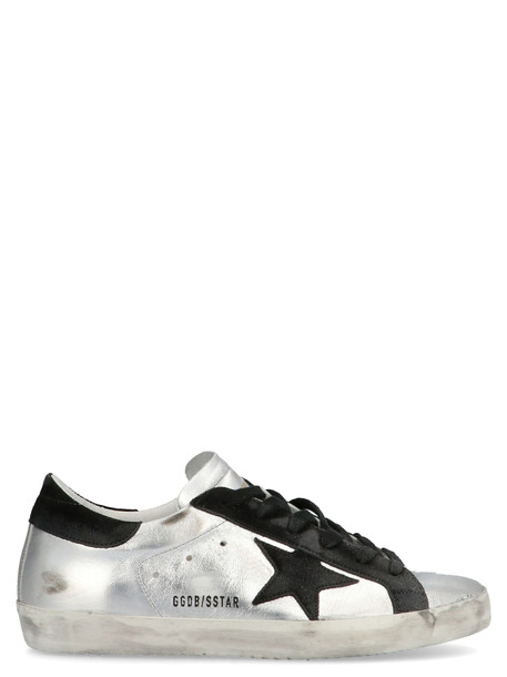 Golden Goose super Star Shoes in silver