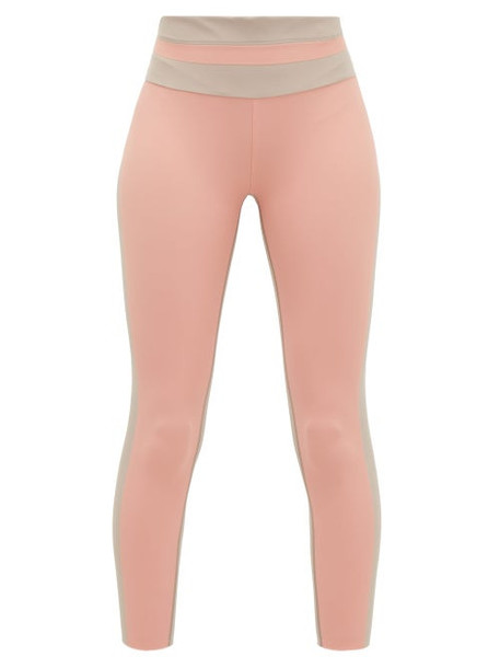 Vaara - Flo Tuxedo Performance Leggings - Womens - Pink Multi