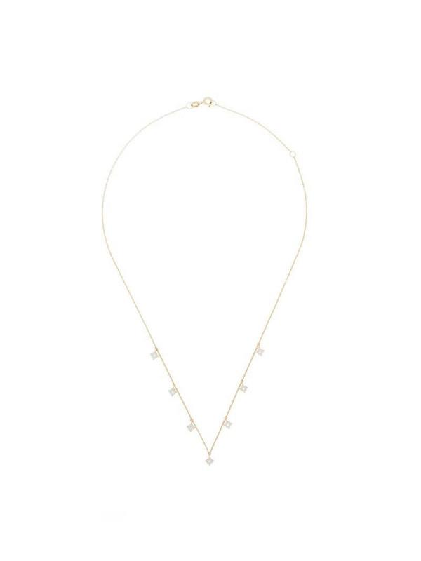 Dana Rebecca Designs 14kt yellow gold Ava Bea Station diamond necklace