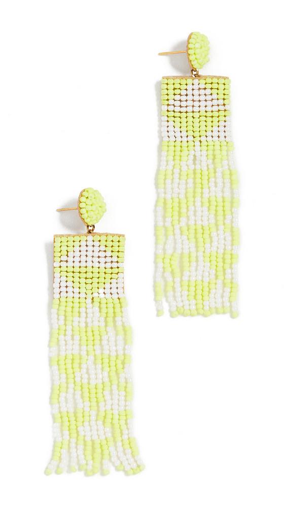 Deepa Gurnani Deepa by Deepa Gurnani Lexia Earrings in yellow