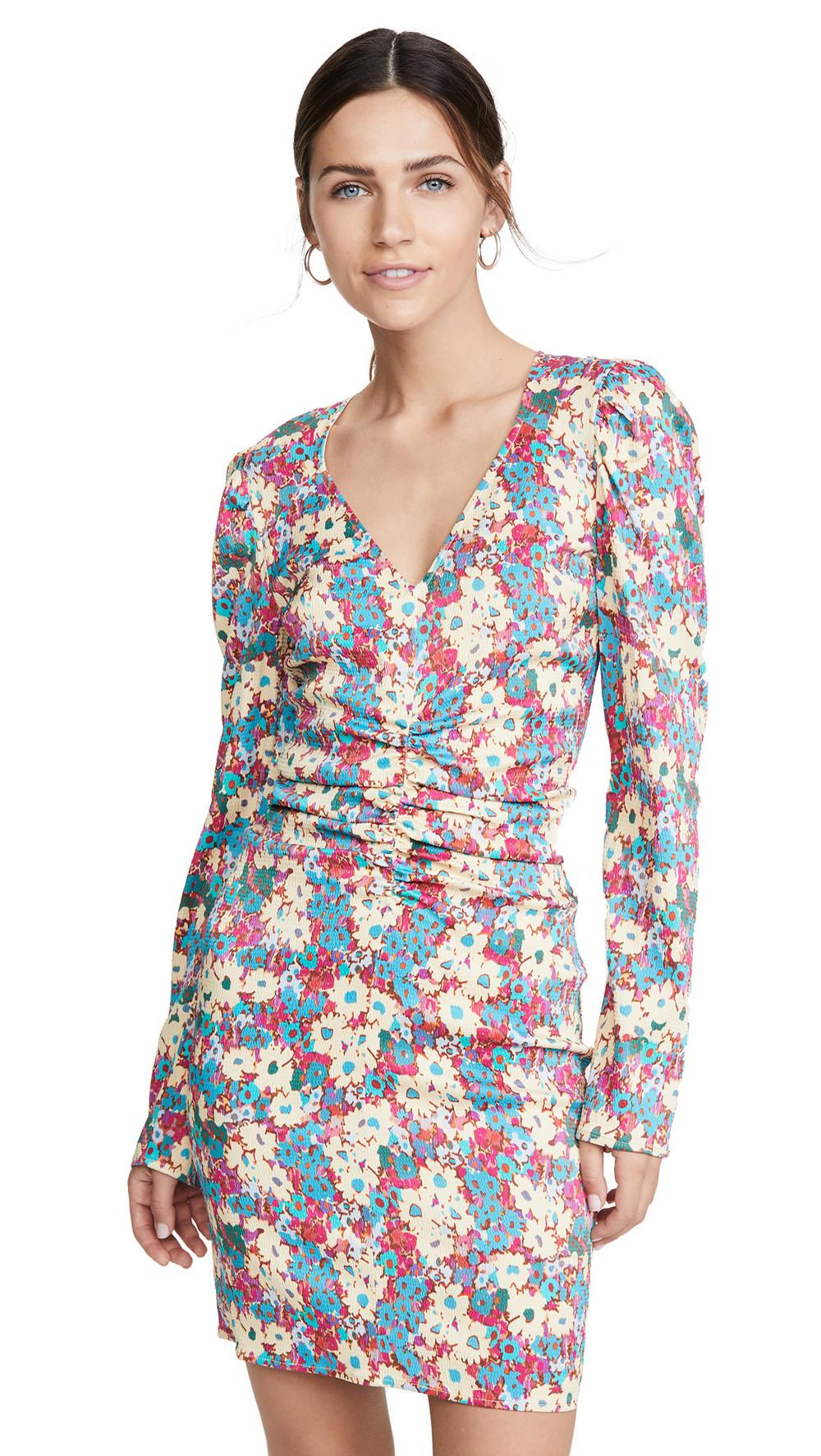 Stine Goya Cosme Dress in teal