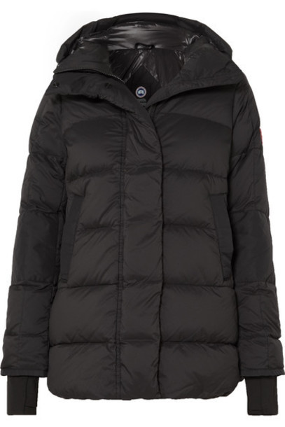 Canada Goose - Alliston Hooded Quilted Shell Down Jacket - Black