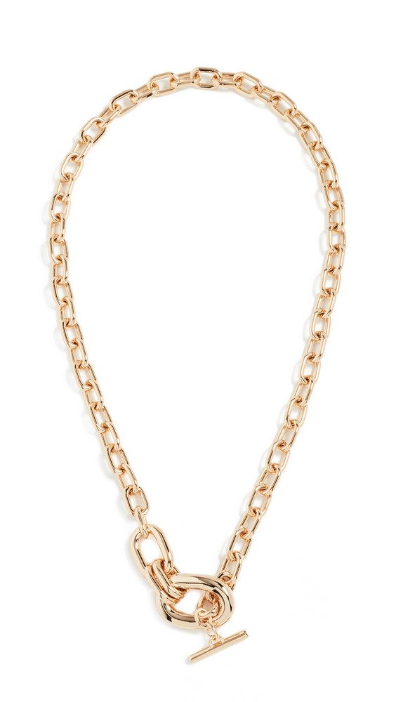 Paco Rabanne XL Link Pendant Necklace in gold