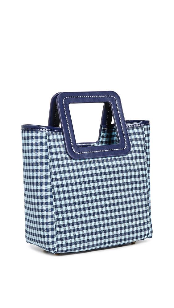 STAUD Mini Shirley Bag in blue