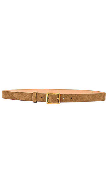 Rag & Bone Baby Boyfriend Belt in Tan in camel