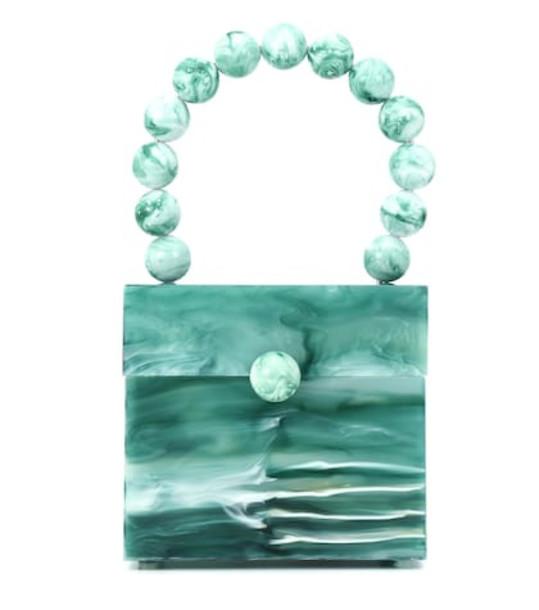 Cult Gaia Eos acrylic tote in green