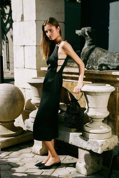 Cult Gaia Mina Dress - Black                                                                                               $718.00