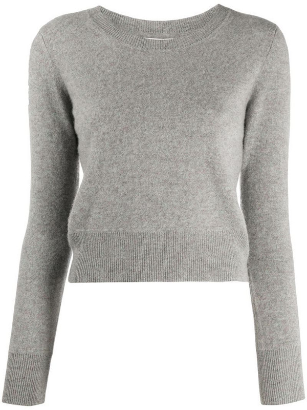 NAADAM crew neck cashmere jumper in grey