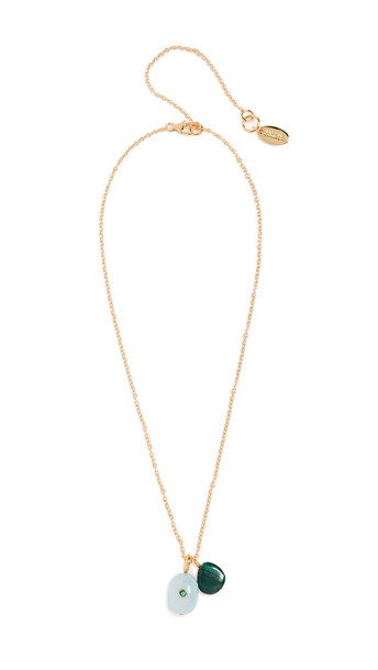 Lizzie Fortunato Blue Skies Oasis Necklace