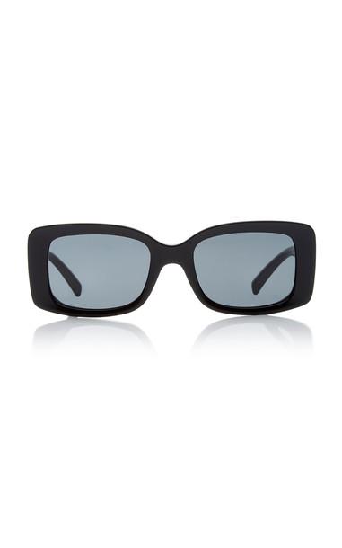 Versace Medusa Square-Frame Acetate Sunglasses in black