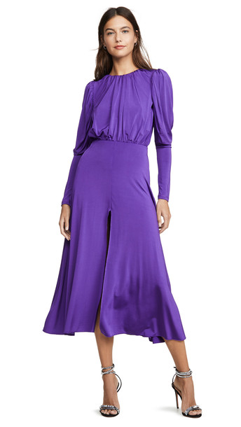 ROTATE Number 57 Dress in violet