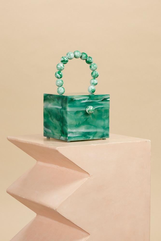Cult Gaia Eos Box Bag - Sage (PREORDER)                                                                                               $348.00 USD
