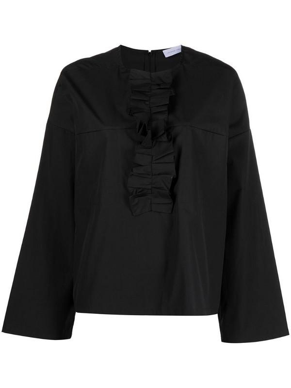 Christian Wijnants Tayla ruffle-trim blouse in black